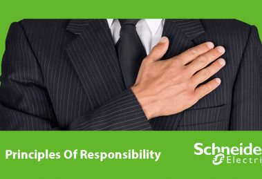 اصول مسئولیت پذیری اشنایدر الکتریک