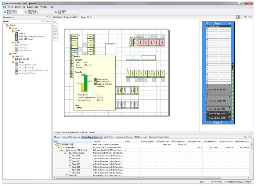 نرم افزار StruxureWare Data Center Operation اشنایدر الکتریک