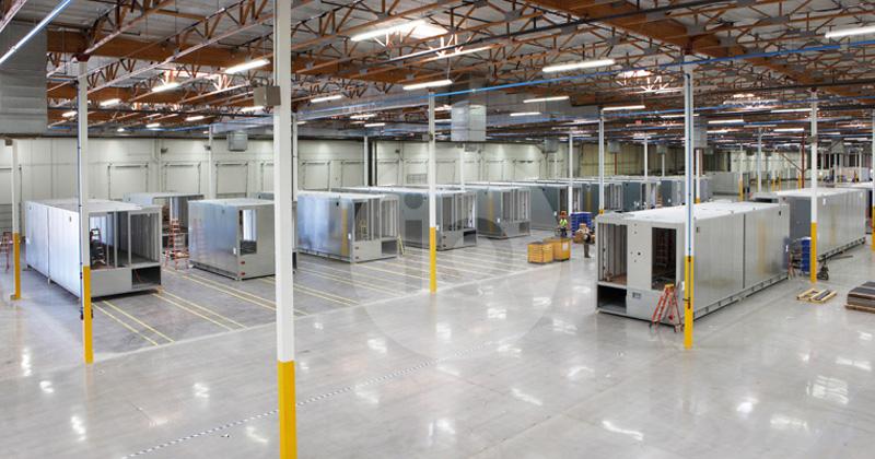 کارخانه تولید مرکز داده پیش ساخته - اشنایدر الکتریک