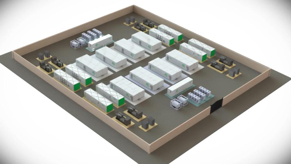 طرح مرکز داده پیش ساخته چند واحد - اشنایدر الکتریک