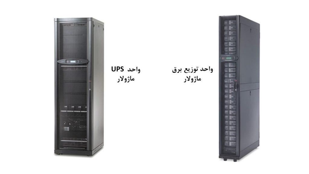 شکل 3: واحدهای UPS و PDU ماژولار