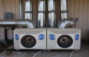 تهویهٔ مطبوع مرکزدادهٔ AISO از هوای آزاد بهره میگیرد و بازده انرژی بیشتری دارد