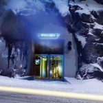 مرکز دادهٔ بانهوف در استکهلم در ۳۰ متری زیر زمین در پناهگاه هستهای