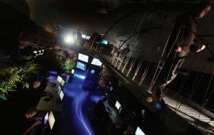 مرکز عملیات شبکه (NOC) مرکزداده بانهوف: نورپردازی مصنوعی، گلخانه، آکواریوم