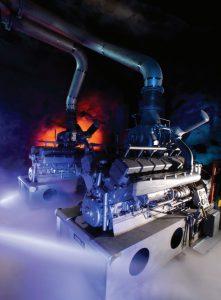 برق دوم مرکزداده بانهوف با دو موتور دیزل زیردریایی فراهم میشود