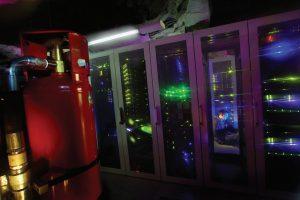 سیستم اطفای حریق مرکز دادهٔ بانهوف با عامل گازی