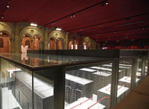 سقف شیشهای مرکز ابررایانش بارسلونا (مرکزداده) بهینهسازیشده برای جریان هوا