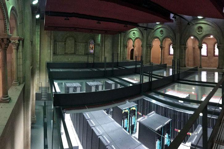 مرکز ابررایانش بارسلونا (مرکزداده)، محل استقرار ابررایانهٔ MareNostrum