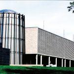 مکان مرکزدادهٔ Calcul Quebec در ساختمان سیلو شکل بتنی