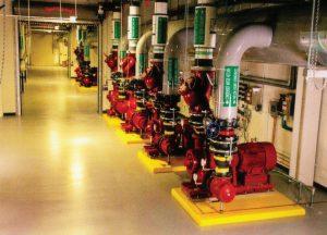 سیستم تصفیهٔ غیرشیمیایی آب در مرکز دادهٔ سیسکو