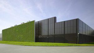 مرکز داده سیتی در فرانکفورت آلمان، اولین مرکزدادهٔ دارندهٔ گواهینامهٔ LEED پلاتین