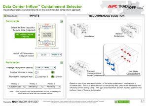 ابزارهای تعاملی برای انتخاب روش سرمایش دالان بسته در مرکز داده