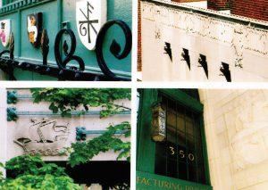 مرکز داده Digital Realty Trust: جزئیات معماری نشاندهندهٔ سابقه چاپخانه در آن است.