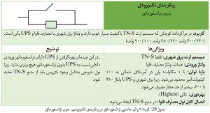 گزینهٔ ۲ برای جانمایی ترانسفورماتور در پیکربندی تکورودی مرکز داده: بدون ترانسفورماتور