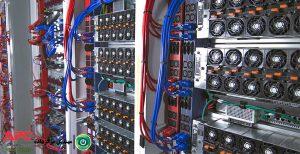 مقالهٔ طراحی سیستم توزیع برق مرکز داده ، برای تجهیزاتی که دو ورودی برق دارند