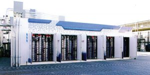 مرکز داده پروژه مرکوری eBay: نیمی از ظرفیت مرکز داده با کانتینرهای روی بام تامین میشود.