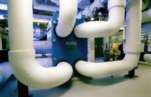 مرکز داده IBM در پارک مثلث تحقیقاتی با استفاده از شیوه سرمایش آبمحور سالیانه ۳٬۹۰۰ ساعت سرمایش طبیعی فراهم میکند.