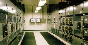 تابلو برق مرکز داده IBM در پارک مثلث تحقیقاتی