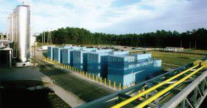 این شش ژنراتور ۲٫۵ مگاواتی در هنگام قطع برق انرژی تجهیزات مرکز داده IBM را در پارک مثلث تحقیقاتی فراهم میکنند.