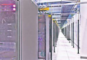 نمایی از داخل اولین فاز مرکز داده IO در شهر فنیکس در ایالت آریزونا