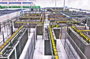 فاز یک مرکز داده IO با ساخت سنتی دارد