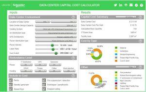محاسبهٔ هزینه ساخت مرکز داده با نرمافزار شرکت اشنایدر: موارد دیگر