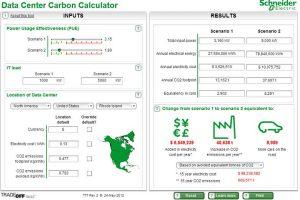 ابراز محاسبهگر تأثیرات کربن مرکز داده