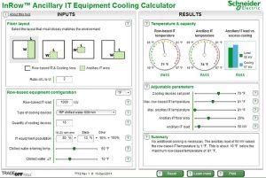 ابزار محاسبهگر تأثیر کمکیِ سیستم سرمایش ردیفی مرکز داده